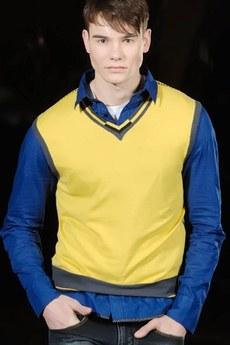 Мужской жилет (желтый) TOM FARR
