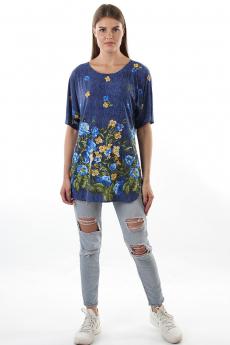 Новинка: блуза с цветами Bast