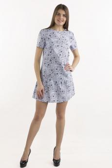 Новинка: серо-голубое платье Bast