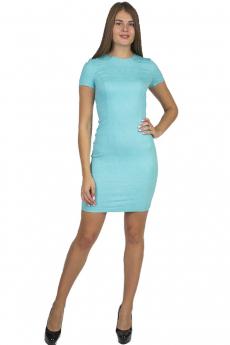 Новинка: голубое короткое платье Bast